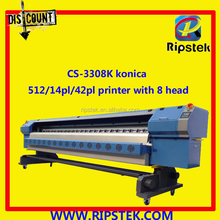 ALLWIN BRAND 3.2M FLEX BANNER PRINTING MACHINE WITH KONICA KM512/42PL/14PL HEAD