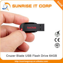 Reasonable price good quality usb2.0 64gb usb flash drive