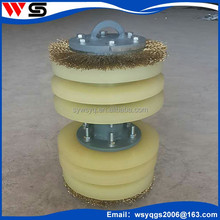Pipeline Piping Impurity Scraper Cleaning Pig Accessories Oil /gas /water Pipe Cleaning Tool Pig Polyurethane Disc Pig