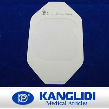 transparent film wound dressing / paper frame style / I.V Cannula dressing