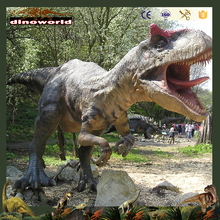 DW-0968 Outdoor Playground High Simulation Fiberglass Dinosaur Statue