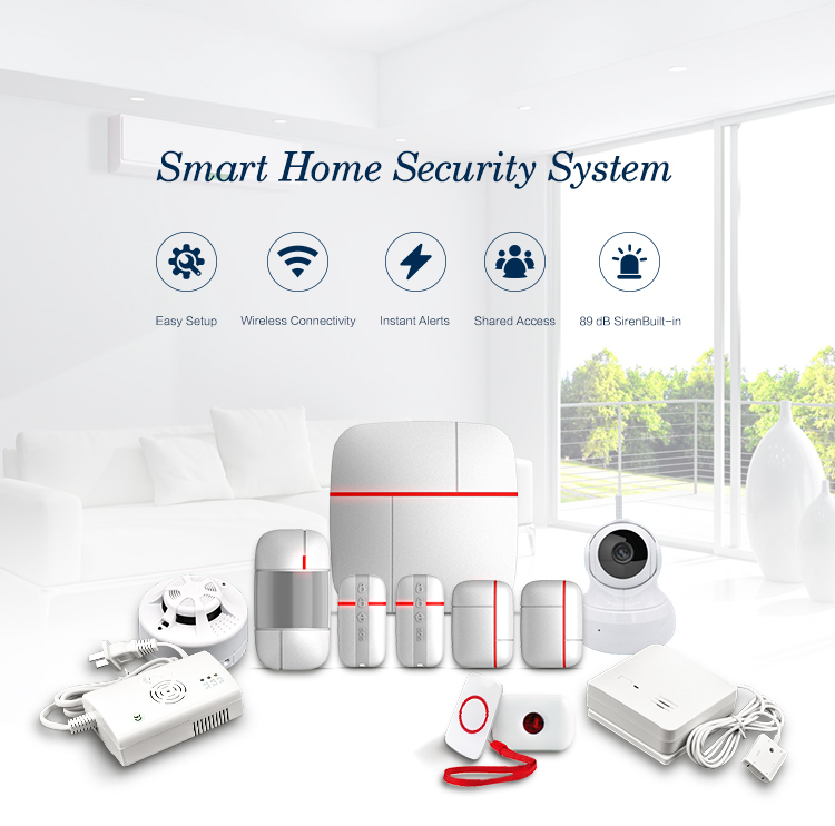 smart home automation wireless alarm security system products smart home hub