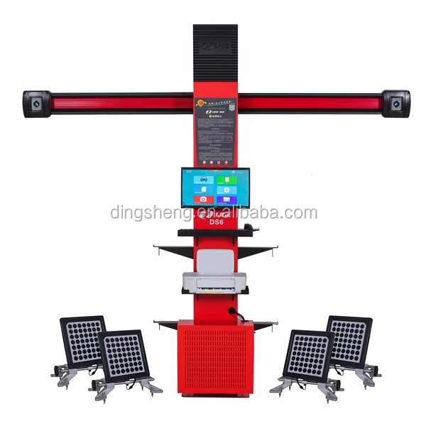 Wheel alignment machines cost of wheel aligner system for tire equipment DS6