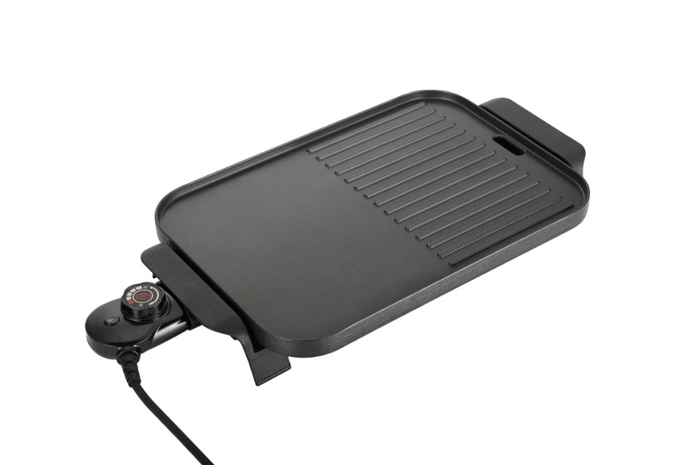 CB CE approval round electric grill frying pan