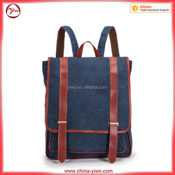Latest fashion canvas laptop backpack