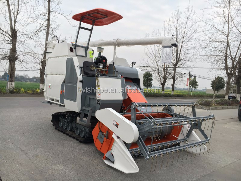 Cheap Price of Kubota Type Combine Harvester in Cambodia