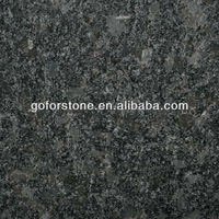 Steel gray granite for countertops and tiles