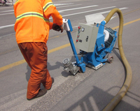 portable shot blasting machine / road surface remover