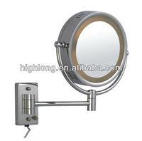 HL-2018 illuminated hairdresser styling bathroom mirror light