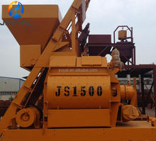 Heavy Duty JS1500 Twin Spiral Industrial Concrete Transit Mixer Price