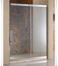 elegant glass shower partition for shower room