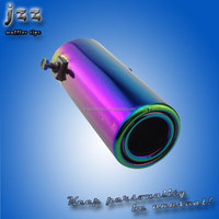 exhaust pipes titanium exhaust muffler for rb25det