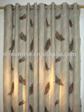 eyelet shade curtains/window curtain