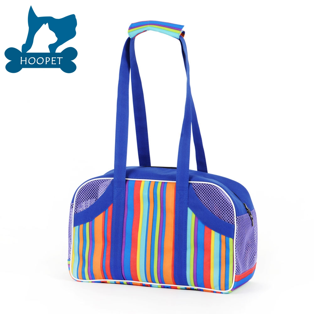 Fashion Colorful Dog Carrier Oxford Pet Carrier Bags Waterproof