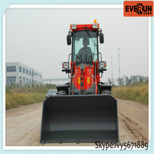 Hot Selling Qingdao Everun ER 16 Mini Wheel Loader with Hydraulic System