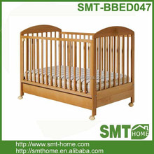Good quality solid wood adult baby crib