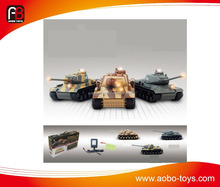 New 1/24 scale simulation infrared r/c battle tank