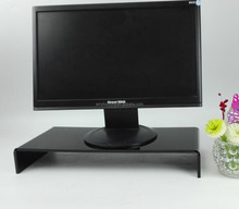 Customized save space acrylic computer monitor display stand laptop stand