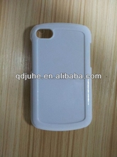 sublimation printable PC material phone case for Blackberry Q10 cover, with aluminum sheet