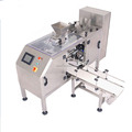 Sanitary standard premade pouch packaging machine for powders