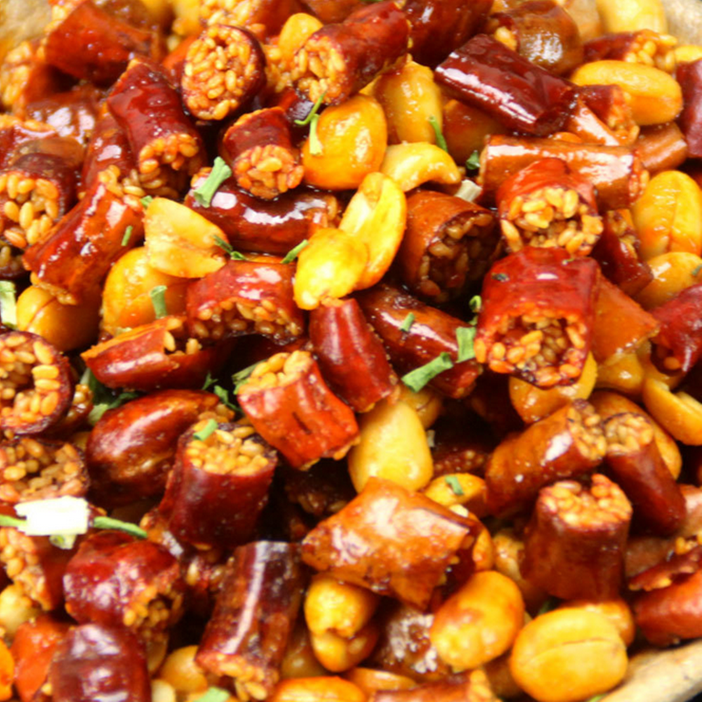 Cooking use chili Peanuts chili crisp