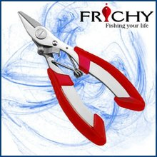 FPN01 Soft spring loaded handle Stainless Steel fishing pliers