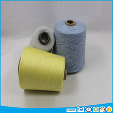 Polyester and linen blended functional yarn for kniitng machine