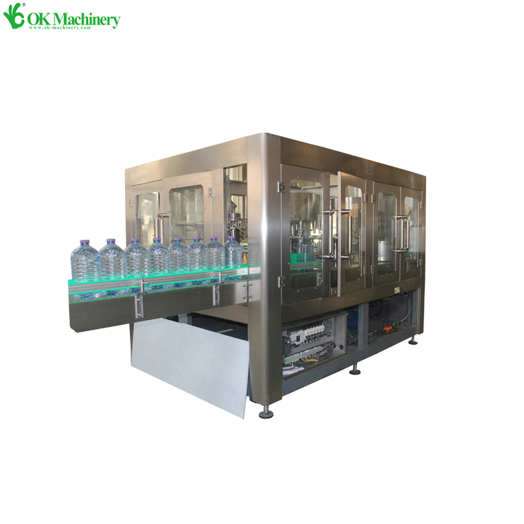 pure water filling and capping machine/mineral water filling production line