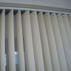 High Quality PVC/Fabric Slats Window shades Vertical Blinds for office