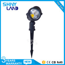 Free sample outdoor IP65 factory solar rgbw rgb 18w led garden spike light