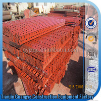 Tianjin Guangye Good Quality Construction Scaffolding Steel Shuttering Plate/Formwork For Promotion