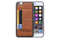 Best selling products mobile phone card holder wallet pu leather case leather case original for iphone 6 wholesale
