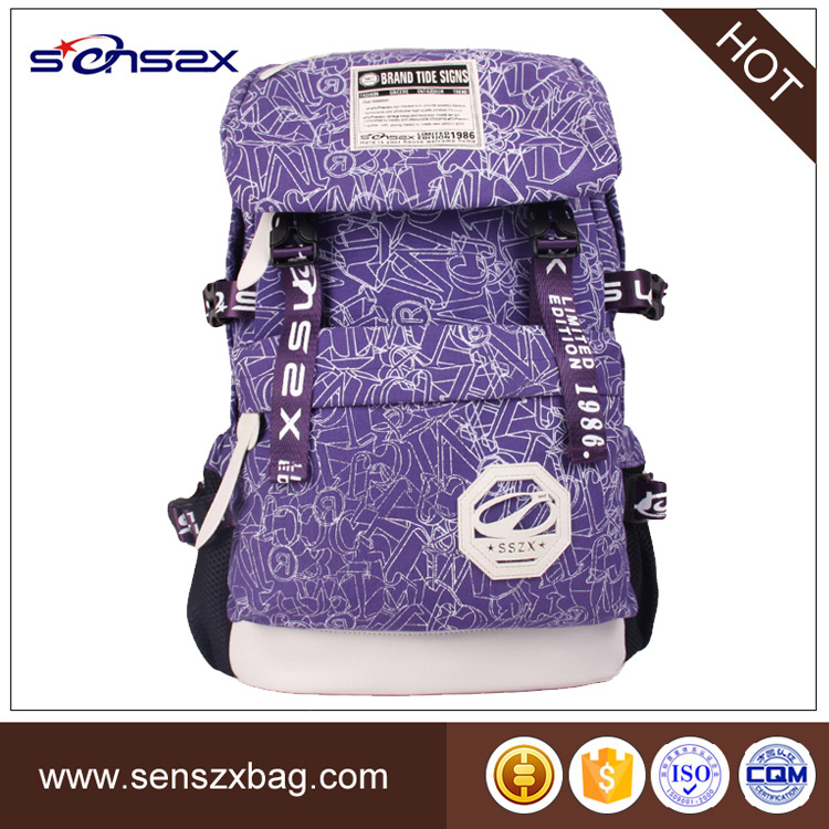 china supplier oem trendy lightweight fashionable school bags for teens