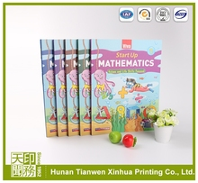 short run white offset printing education book printing, cardboard book printing, indonesia offset printing paper