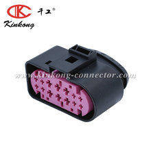 14 Way female sealed auto connector plug housing for VW AUDI 1J0 973 737