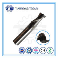 TG Tools Standard DIN844/DIN327/ANSI Size 4.0mm-25.0mm cnc end mill cutters with BSCI/CE/ROHS/ISO