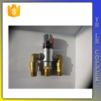 3 way flow control valve for mixing water