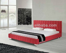 Fabric furniture red bed B01