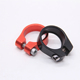 Wholesale bicycle parts CNC machining aluminum BMX road bike seat clamp quick release