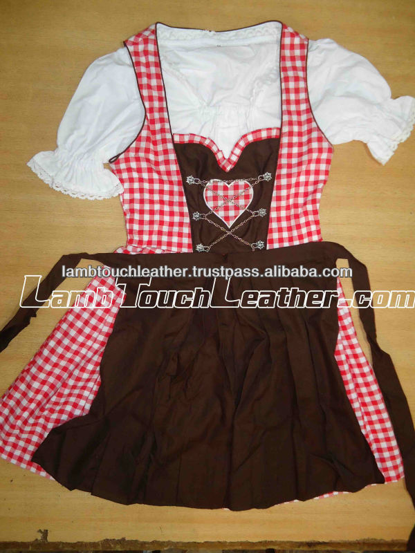 TRACHTEN DIRNDL OKTOBERFEST DRESS, TRADITIONAL BAVARIAN DIRNDL,BAVARIAN GERMAN OKTOBERFEST DIRNDL DRESS GOWN COSTUME