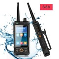 IP67 wifi android 5.0 3G WCDMA GSM 4G dmr digital handheld two way radio rugged walkie talkie phone