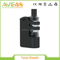 Latest Tesla Stealth kit, Tesla Stealth 100w Mod with 2200mAh kit VS Smoant Knight V1