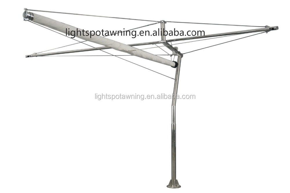 Wholesale Garden car park sun shade sail with stainless steel