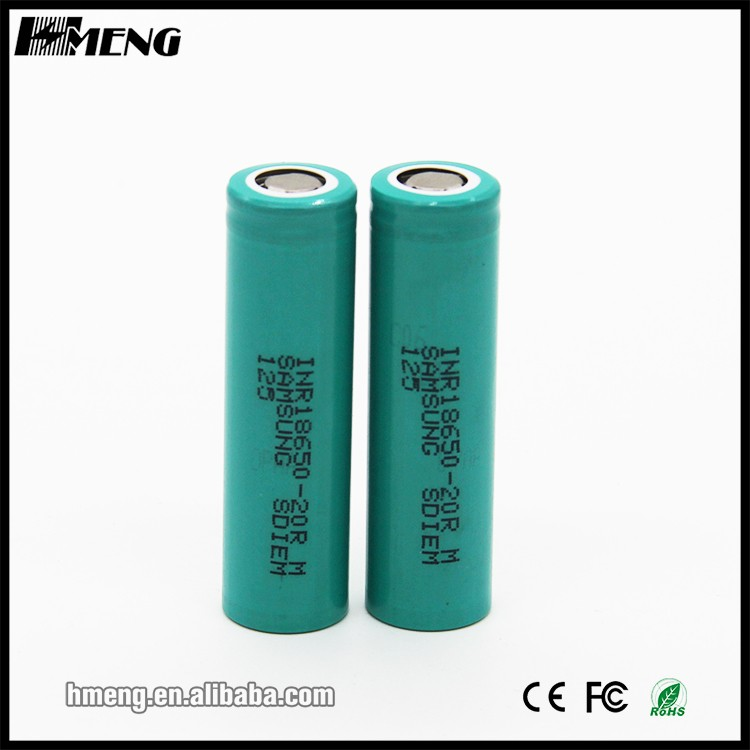 2016 New desigh wholesale 2000mAh 3.7v rechargeable battery li-ion 18650 battery for e-cigs