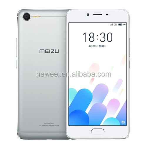 Wholesale lowest price MEIZU Meilan E2 silver smartphone with 4-LED Flashlights, 18W mCharge, 5.5 inch Meizu Flyme 6.0