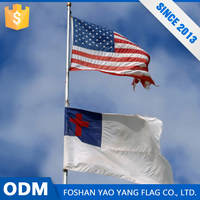 Chinese Product Top Sales Custom Digital Printing Christian Flag