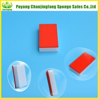 High Density No need Shoes Polishing Liquid Cleaning Sponge for Shoes