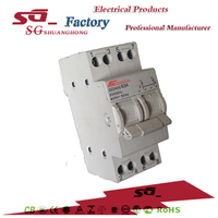 SF din rail type changeover switch manual changeover switch disconnecting switch