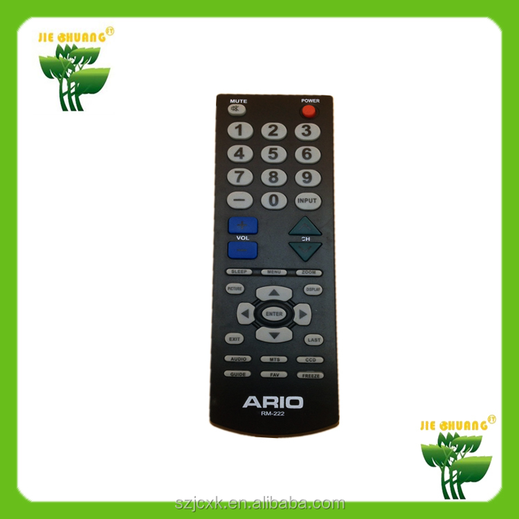 China manufactory universal tcl tv remote control codes for panasonic tv