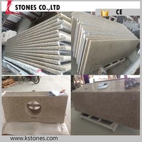 Chinese cheap price prefab granite countertop for bathroom,kitchen,bar